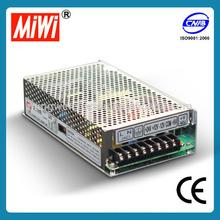 MIWI Q-120D 5V 12V 24V -12VDC 120W Quad output switching power supply