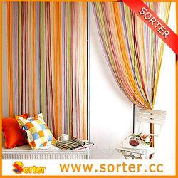 garagedoor/wall/window decorative string fringe curtain/line screen for room divider