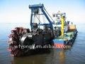 Hidráulico 3000cbm/hr río de succión del cortador dragas arena
