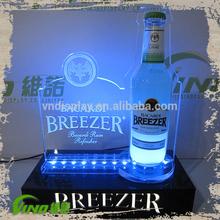 Acrylic LED Lighting Bottle Glorifier Drink Holder Display