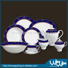 porcelain dinner set in color design ww10004