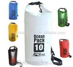 500D Trapaulin ocean pack dry bag with shoulder strap