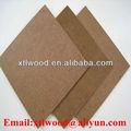 3.0mm alta densidade placa de fibra com cor marrom