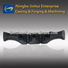OEM carbon steel & alloy steel forging part - forged conveyor drag, yoke, ring, link, shaft etc
