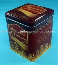OEM Coffee tin box manufacturer