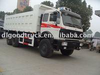 Baotou Beiben all wheel driving 6*6 Tipper Truck 35Tons Desert Dump Truck