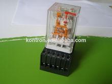 8/11 pin plug-in general purpose 10A relay
