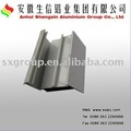 spray blanco de perfiles de aluminio