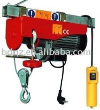 China manufacture PA mini wire rope electric hoist