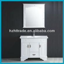 PVC white modern European bathroom furniture
