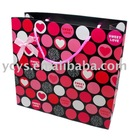 bags fashion Custom Gift Paper Shopping Bag Pink Lovely Own Printing Machine YCZD1