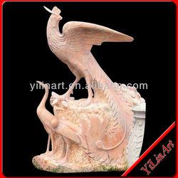 Stone Decorative Peacock Statue YL-D132