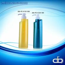 Ada-pe-367 fantástico shampoo pe garrafa de loção/fabricantes de garrafas pet
