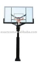 Adjustable outdoor basketball stand