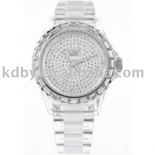 Kd-x1235 orologio di cristallo trasparente