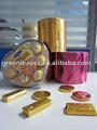 عملة ذهبية الشوكولاته رقائق الألومنيوم ورقة التغليف