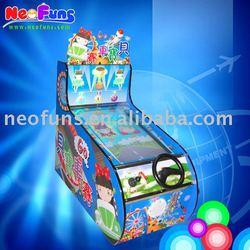 baby car racing game machine