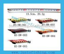 9+ years wholesaler Hirun fishing tackle High quality M3-HW squid jig fishing lures