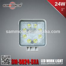 24W LED Marine Lamp, LED Work Light, LED Driving Light_SM-5024-SXA