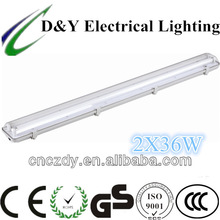 t8 4ft led fluorescent fitting for parking lot or farm lighting