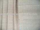 Wool/Viscose FabricT/R/W stripe Fabric for men suiting