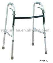 Foldable long lifetime Aluminum walking aids for disabled