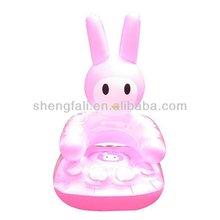 Cute design pvc inflatable sofas
