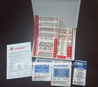 Mini First Aid Kit 33 pieces medical emergency kit