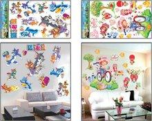 Decorativo perlado de dibujos animados pared tatuajes de envío gratis