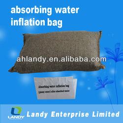 self inflating sandbag