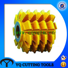 HSS m4 Gear Hobber with TIN Coating