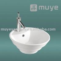 Counter Top Mounting Round Sink Ceramic Washbasin MY-5226