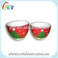 cerámica de navidad decoración de la flor olla