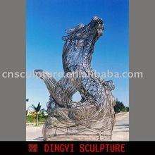 large outdoor Metal Sculpture