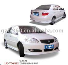 Toyota 07 VIOS car bodykits (4 pieces)