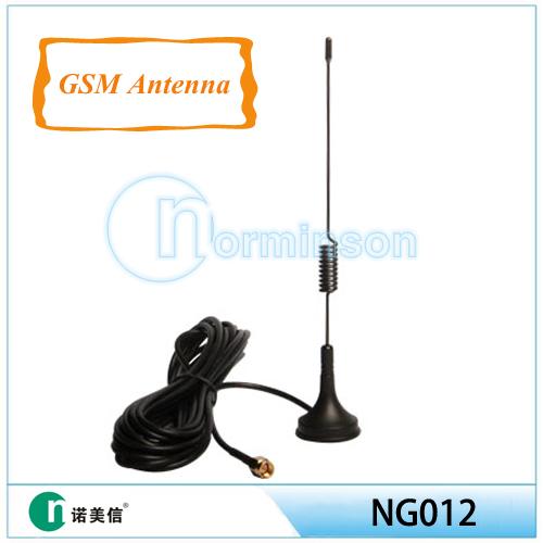 Antenna spring mount