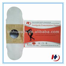 transdermal heat analgesic patch