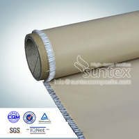 abrasion resistance PTFE coated fabric for expension joints