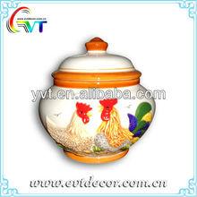 Porcelain Jar With Lid