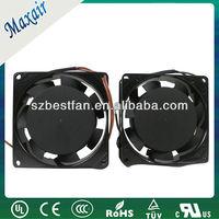 Mini radiator ac motor fan
