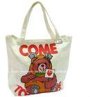 2011 cheapest 100% ECO cotton canvas shopping bag FACTORY