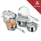 Normal copper capsule bottom cookware