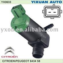 windshield wiper motor for citroen 643458,9601120180