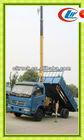 dongfeng 4x2 dump cargo crane truck, small lift crane,dump truck with crane
