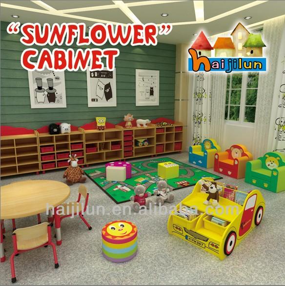 2013 kindergarden school furniture ,wooden cabinet for toys,colorful design kids furniture toys cabinetHJL-CA001