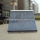 Pressurized vacuum tubes+copper pipe heat pipe Solar collector with good quality ( Mada in China )