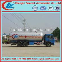 LPG tanker truck, 24.8CBM lpg tanker transportation truck