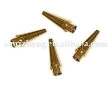 Lathed Copper Pen Tips/Pen Parts/ Gold Plating Pen Kits