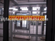 Ylj-85 Wood Aluminium Luxury Temperature-Saving Slidding Folding Door