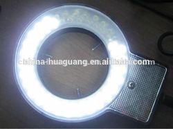 LED-60T 60pcs/72pcs/80pcs microscope LED ring light/microscope illuminator